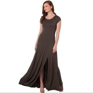 NWT Michael Kors Brown Maxi Dress